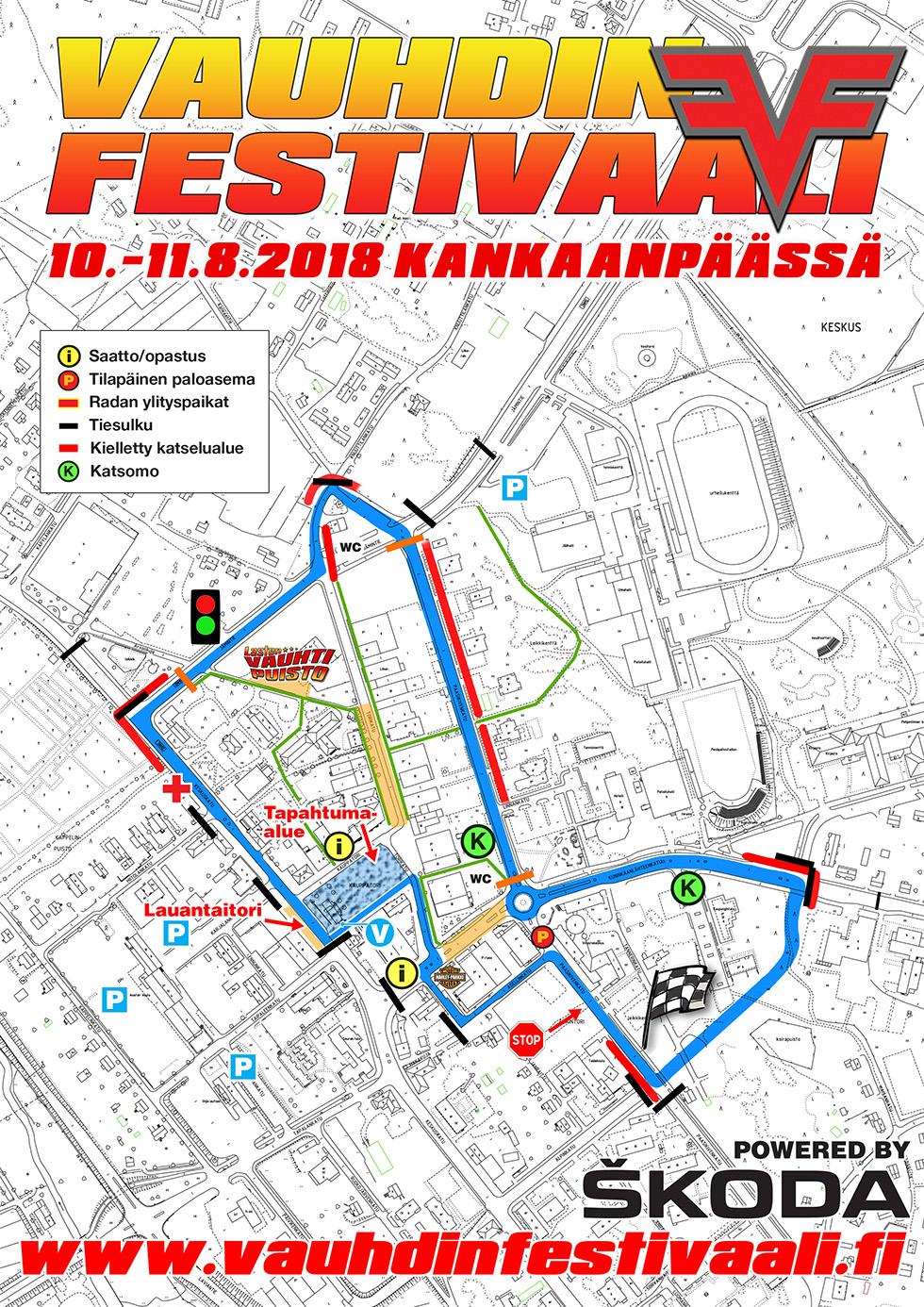 Info Vauhdin Festivaali